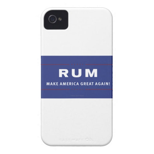 Rum Make America Great Again Case-Mate iPhone 4 Barely There Universal Case