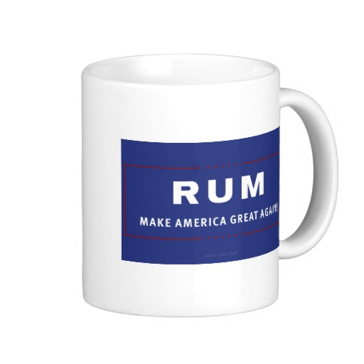 Rum Make America Great Again Classic White Mug