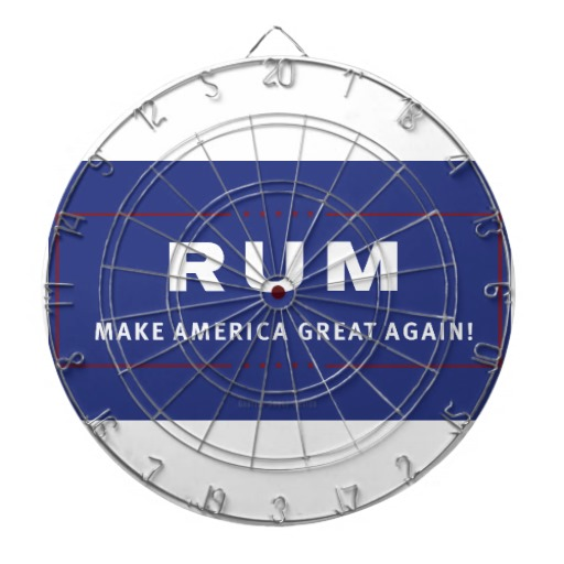 Rum Make America Great Again Dartboards