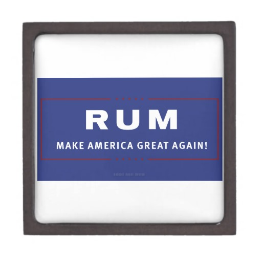 Rum Make America Great Again Gift Box