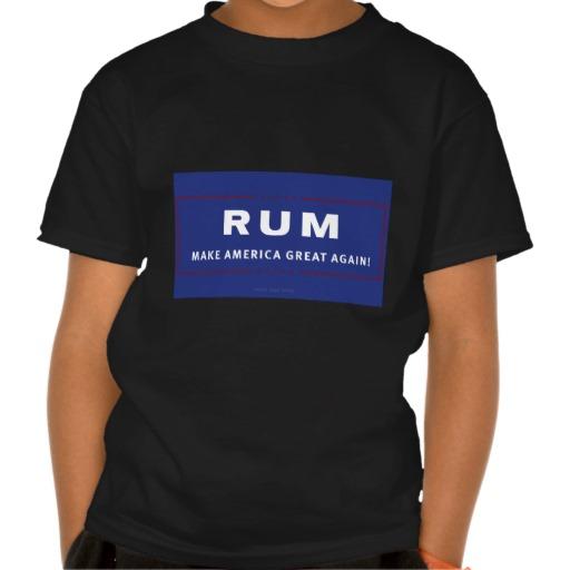 Rum Make America Great Again Kids' Basic Hanes Tagless ComfortSoft® T-Shirt