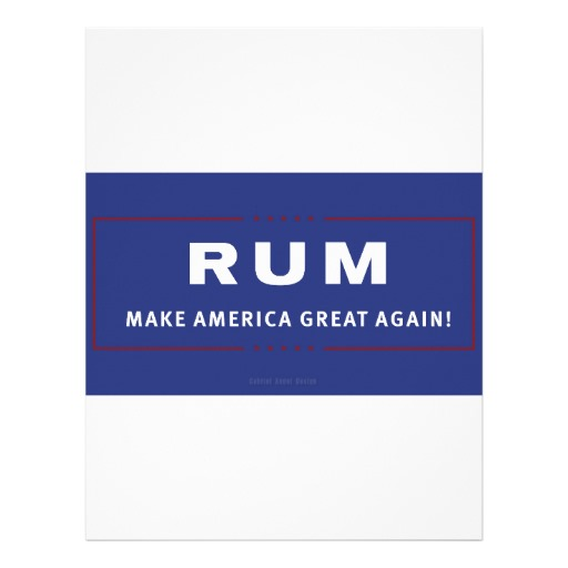 Rum Make America Great Again Letterhead