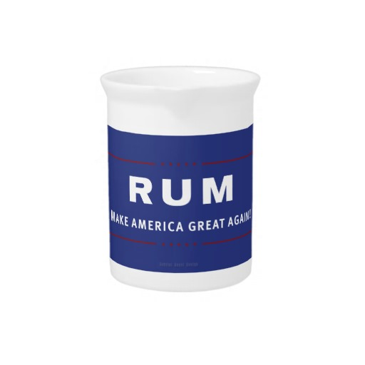 Rum Make America Great Again Pitcher