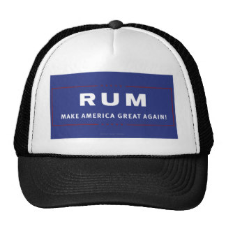 Rum Make America Great Again Trucker Hat