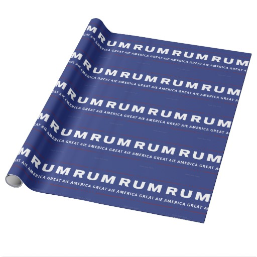 Rum Make America Great Again Wrapping Paper