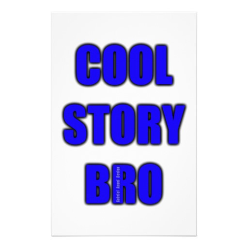 Cool Story Bro Stationery