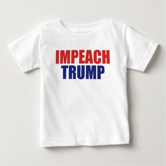 Impeach Trump Baby Fine Jersey T-Shirt