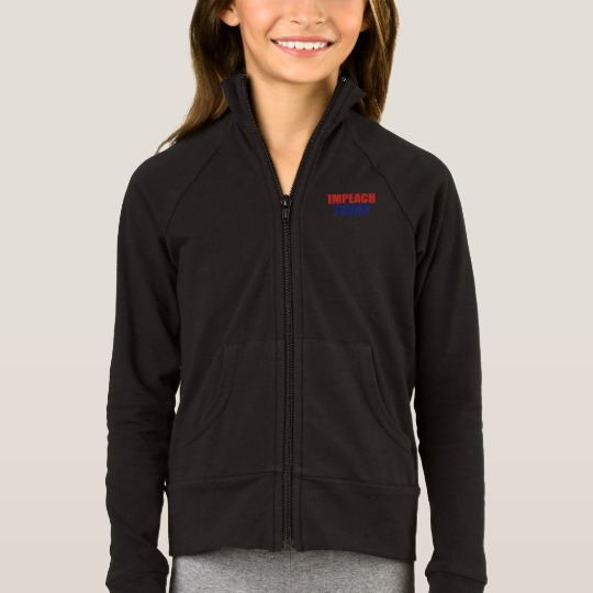 Impeach Trump Girls' Boxercraft Practice Jacket