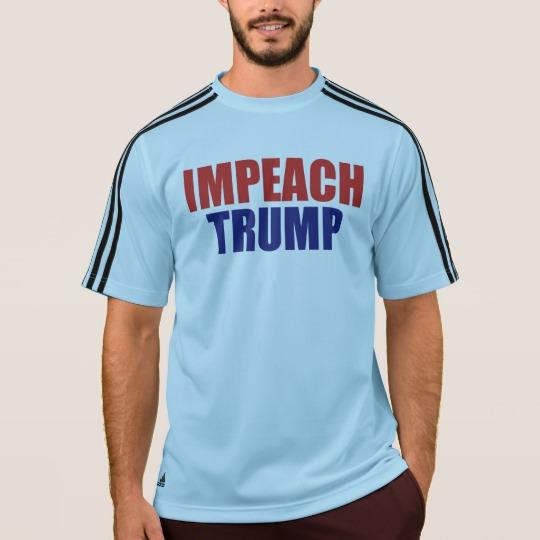 Impeach Trump Men's Adidas ClimaLite® T-Shirt