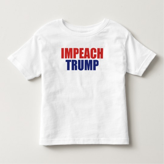 Impeach Trump Toddler Fine Jersey T-Shirt