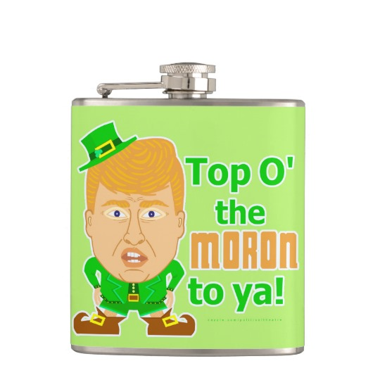 Top O the Moron to Ya Can Cooler Flask