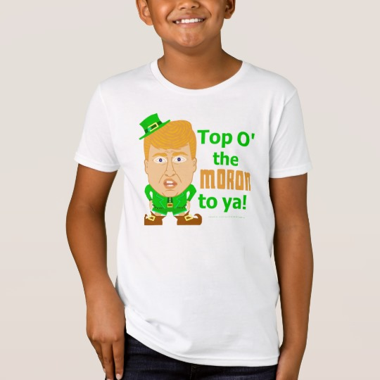 Top O the Moron to Ya Kids' American Apparel Organic T-Shirt