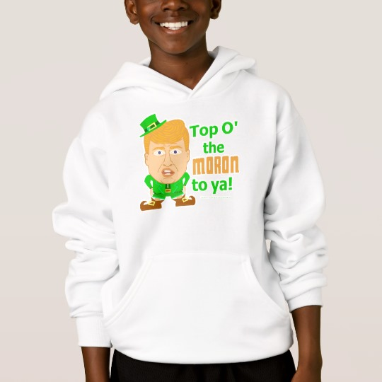 Top O the Moron to Ya Kids' Hanes ComfortBlend® Hoodie
