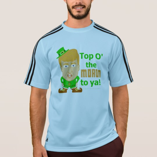Top O the Moron to Ya Men's Adidas ClimaLite® T-Shirt