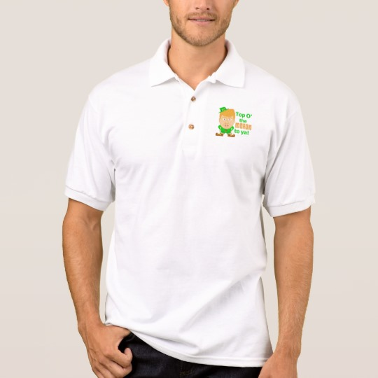 Top O the Moron to Ya Men's Gildan Jersey Polo Shirt