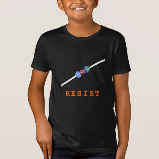 Resist with Resistor Kids' American Apparel Organic T-Shirt