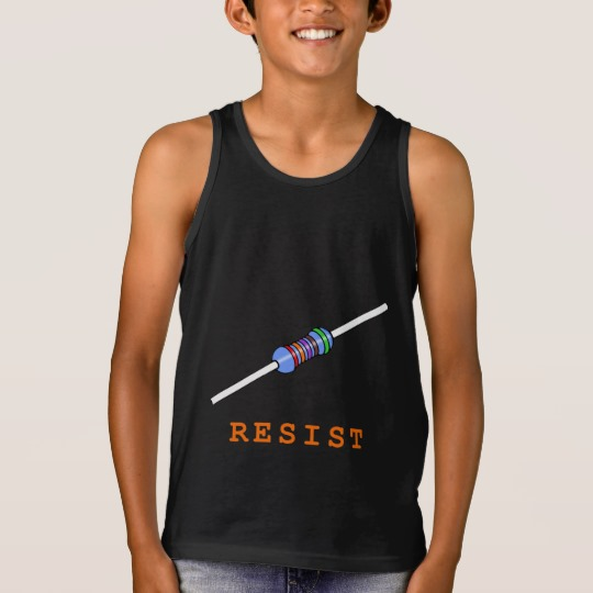 Resist with Resistor Kids' Bella+Canvas Jersey Tank Top