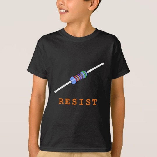 Resist with Resistor Kids' Hanes TAGLESS® T-Shirt