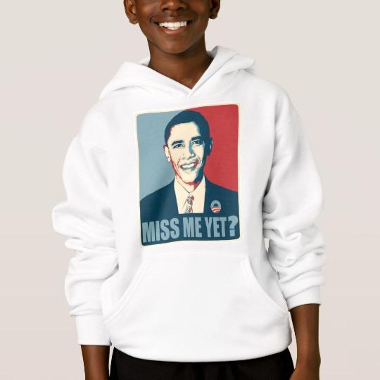 Obama Miss Me Yet? Kids' Hanes ComfortBlend® Hoodie