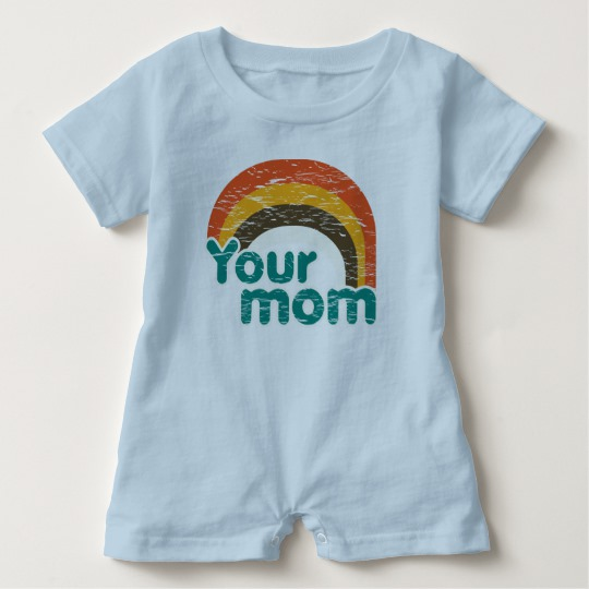 Your Mom Baby Romper