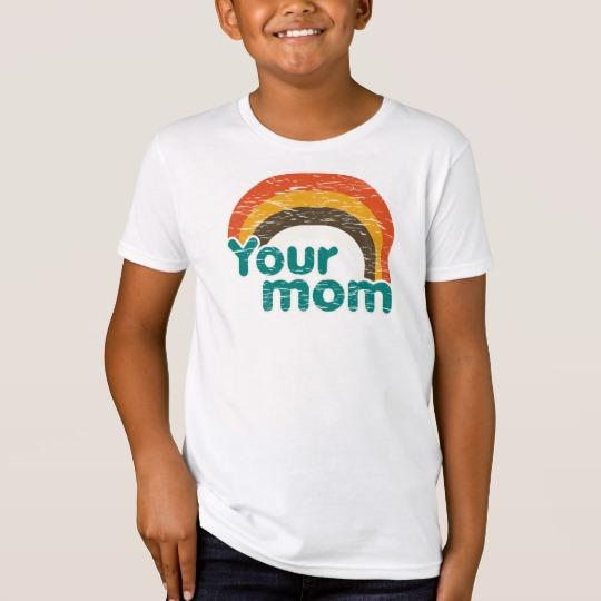 Your Mom Kids' American Apparel Organic T-Shirt