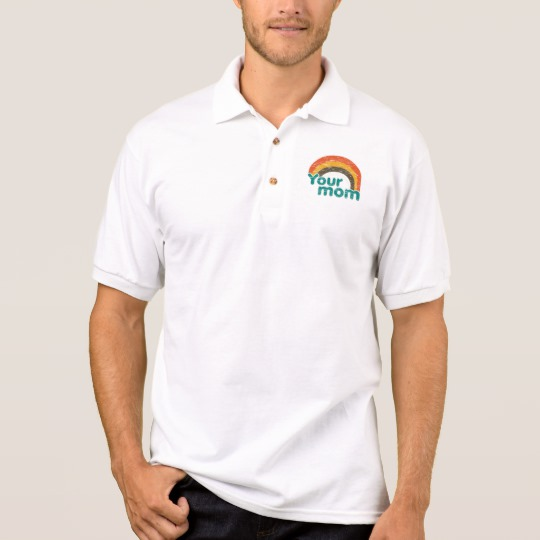 Your Mom Men's Gildan Jersey Polo Shirt
