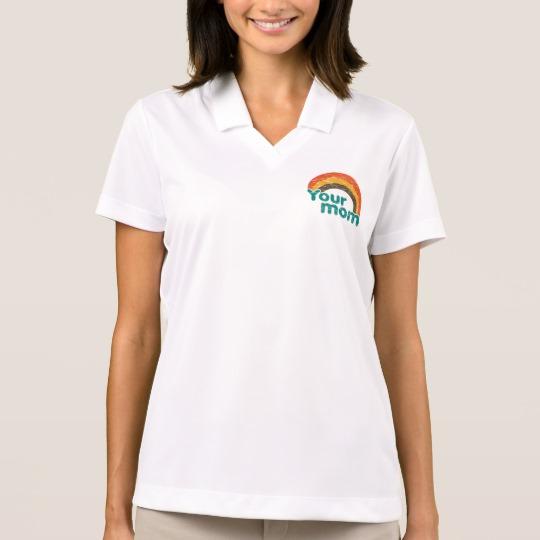 Your Mom Women's Nike Dri-FIT Pique Polo Shirt