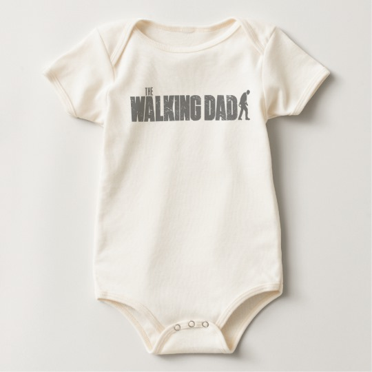 The Walking Dad Baby American Apparel Organic Bodysuit