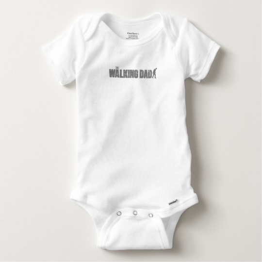 The Walking Dad Baby Gerber Cotton Onesie
