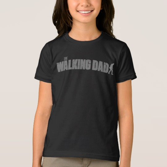 The Walking Dad Girls' American Apparel Fine Jersey T-Shirt