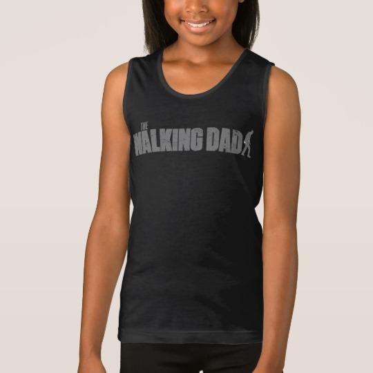 The Walking Dad Girls' Fine Jersey Tank Top