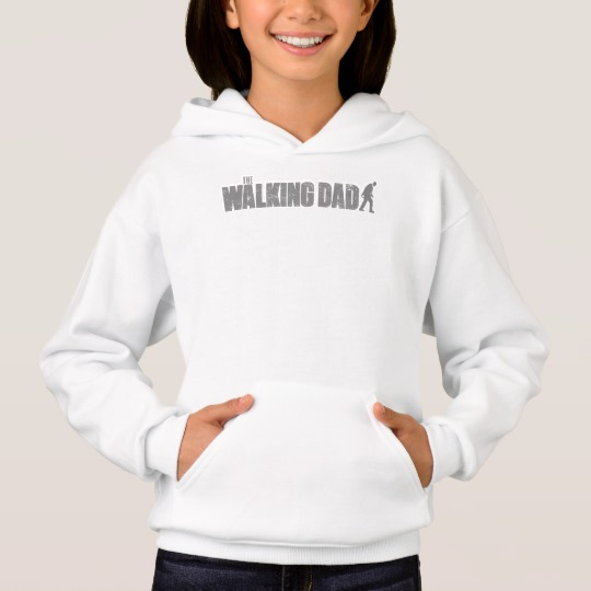 The Walking Dad Girls' Hanes ComfortBlend® Hoodie