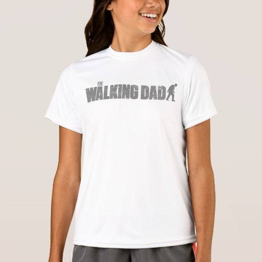 The Walking Dad Girls' Sport-Tek Competitor T-Shirt