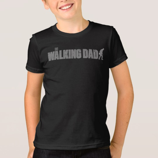 The Walking Dad Kids' American Apparel Fine Jersey T-Shirt