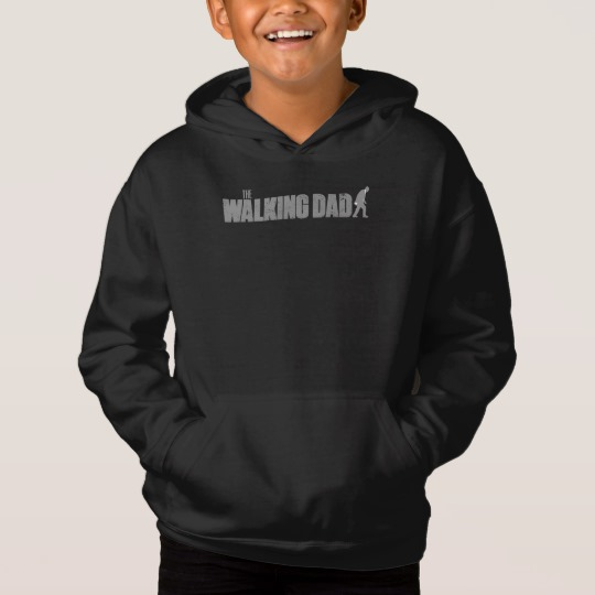 The Walking Dad Kids' Fleece Pullover Hoodie