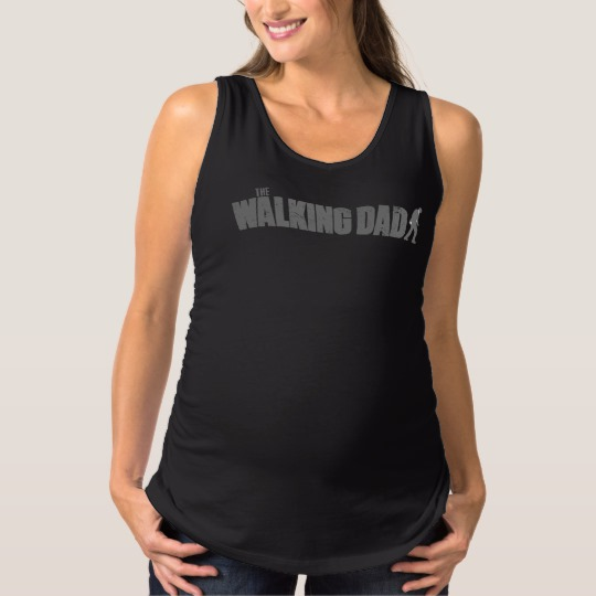 The Walking Dad Maternity Tank Top