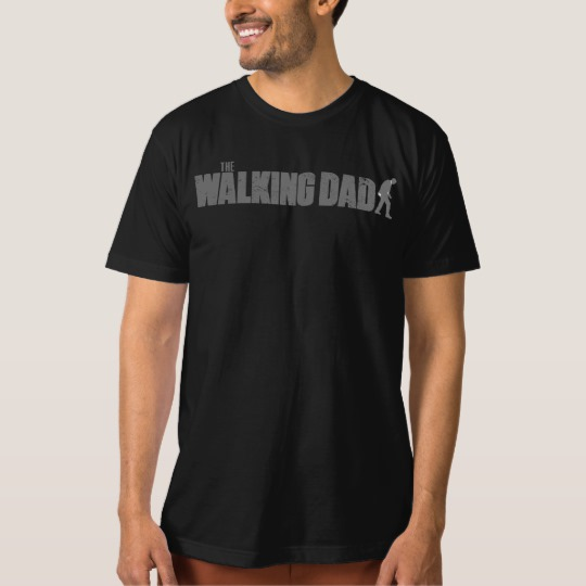 The Walking Dad Men's American Apparel Organic T-Shirt