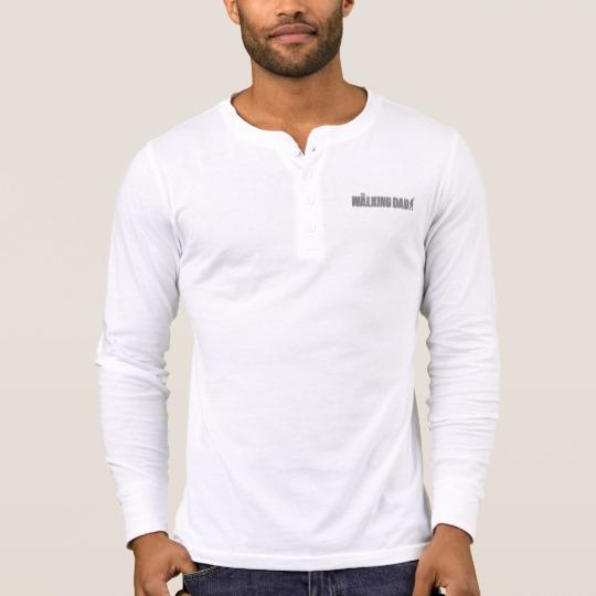 The Walking Dad Men's Bella+Canvas Henley Long Sleeve Shirt