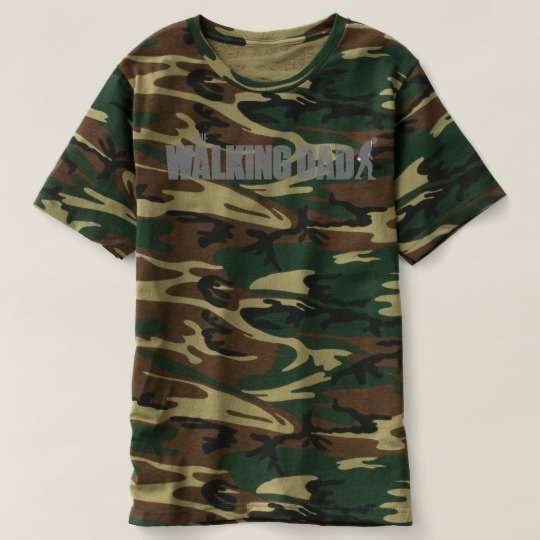 The Walking Dad Men's Camouflage T-Shirt
