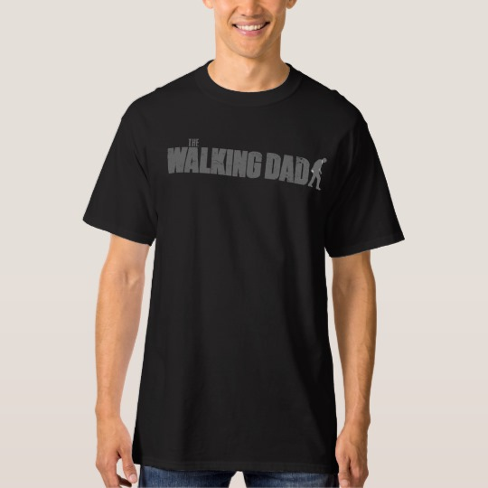 The Walking Dad Men's Tall Hanes T-Shirt