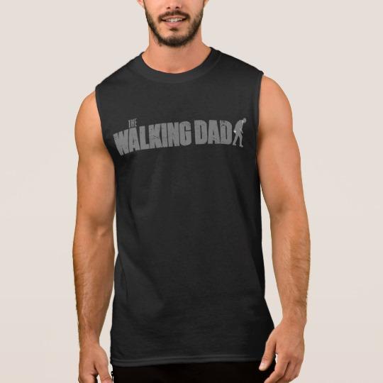 The Walking Dad Men's Ultra Cotton Sleeveless T-Shirt