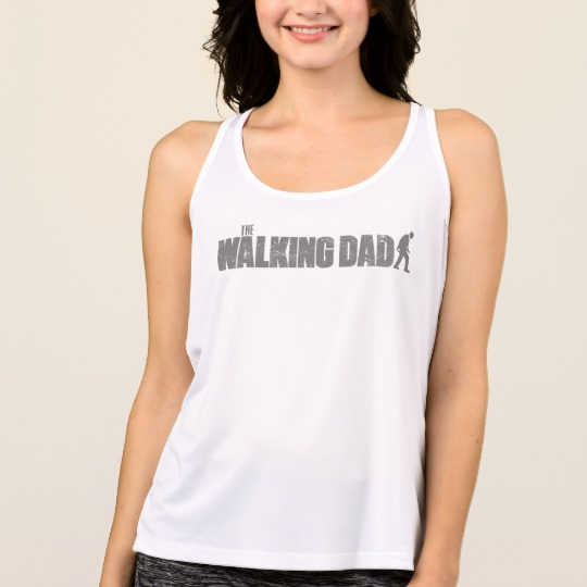 The Walking Dad Women's All Sport Performance Tank Top