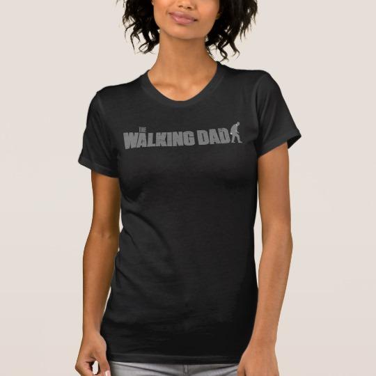The Walking Dad Women's Alternative Apparel Crew Neck T-Shirt