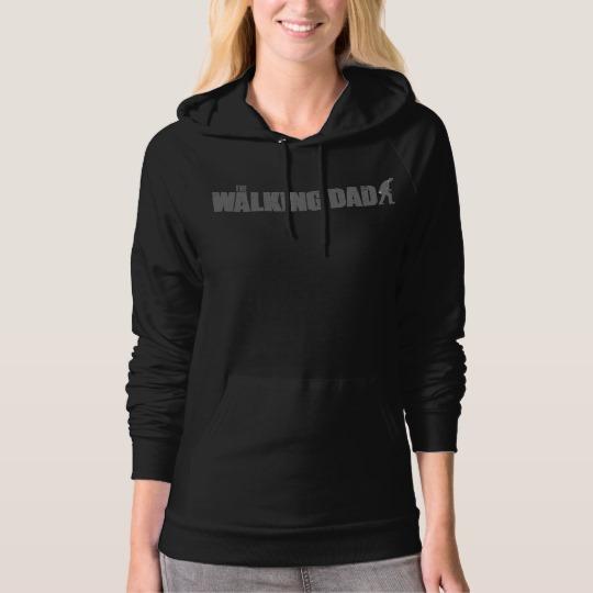 The Walking Dad Women's American Apparel California Fleece Pullover Hoodie