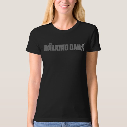 The Walking Dad Women's American Apparel Organic T-Shirt