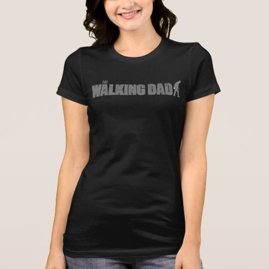 The Walking Dad Women's Bella+Canvas Favorite Jersey T-Shirt