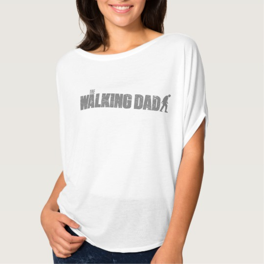 The Walking Dad Women's Bella+Canvas Flowy Circle Top