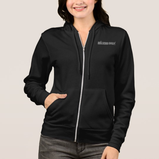 The Walking Dad Women's Bella+Canvas Full-Zip Hoodie