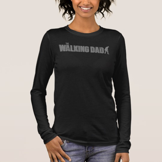 The Walking Dad Women's Bella+Canvas Long Sleeve T-Shirt