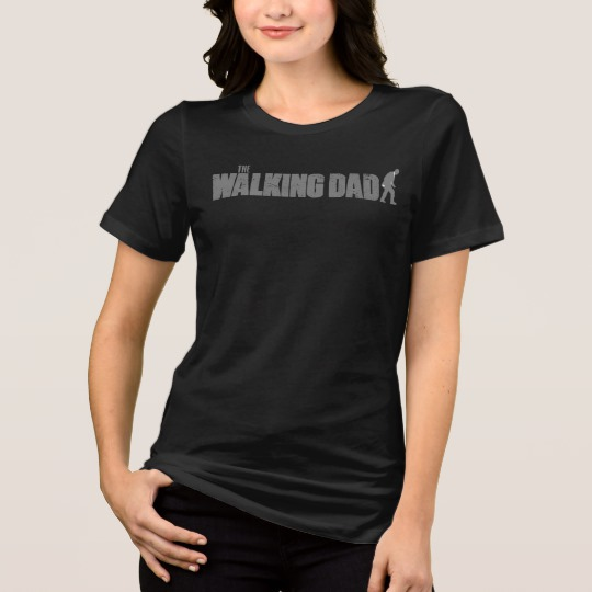 The Walking Dad Women's Bella+Canvas Relaxed Fit Jersey T-Shirt